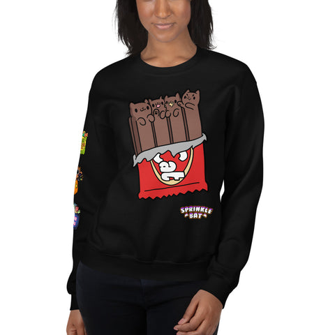 Kit Cat Candy Unisex Sweatshirt