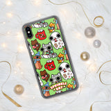 Holiday Pattern iPhone Case