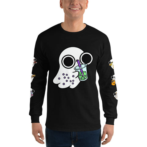 Ghost Foodies Long Sleeve Shirt