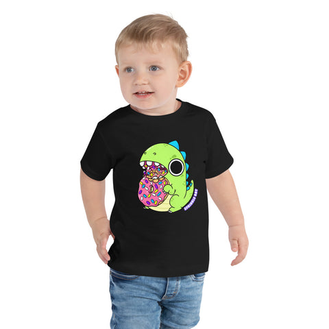 Toddler Dino Donut Chomp Shirt