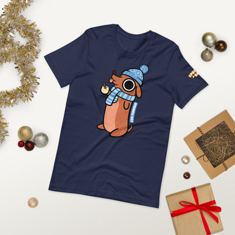 Nog Dog Short-Sleeve Unisex T-Shirt