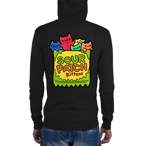Sour Patch Kittens Unisex zip hoodie