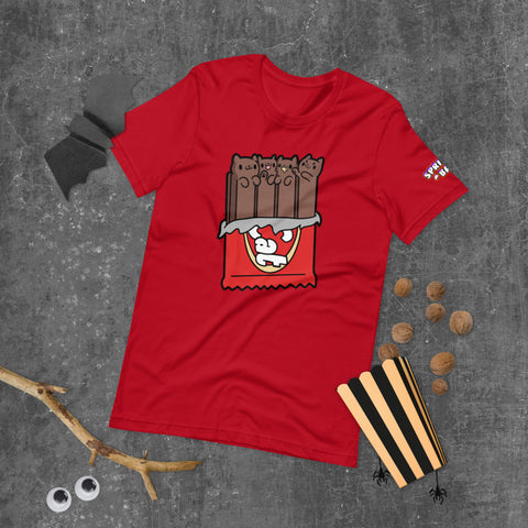 Kit Cat Candy Short-Sleeve Unisex T-Shirt