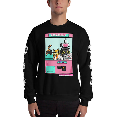 Kitty Crane Kawaii Sweatshirt !