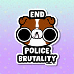 End Police Brutality Sticker for ACLU