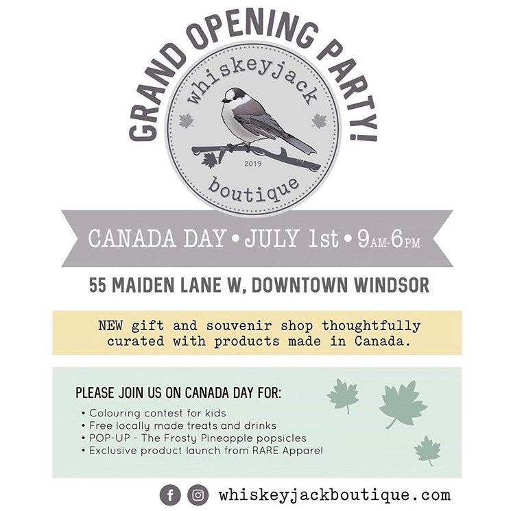 You're Invited To Our Canada Day Grand Opening Event!