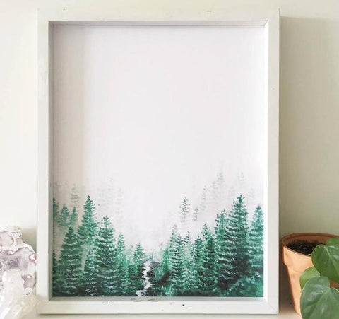Birch & Bliss Canadian Art Print