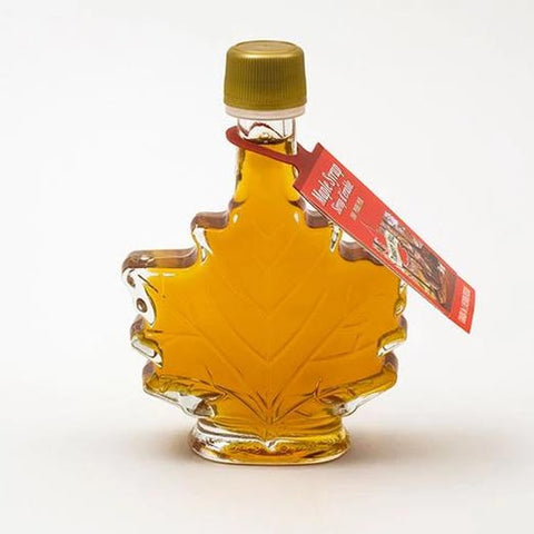 maple leaf maple syrup bottle - turkey hill sugar bush