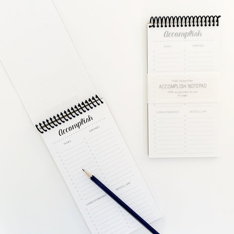 Accomplish Notepad | To Do List