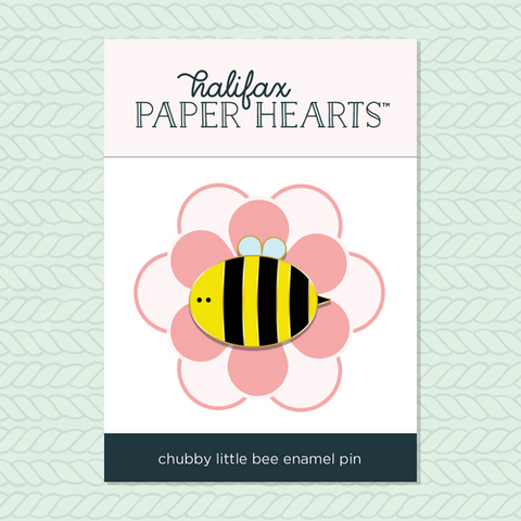 Chubby Little Bee Enamel Pin