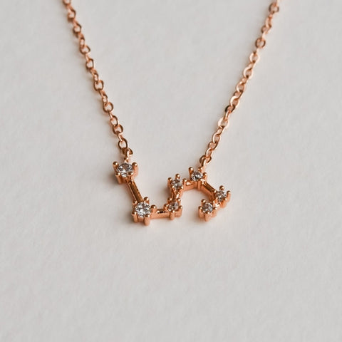 Leo Constellation Necklace - Aloraflora Jewelry
