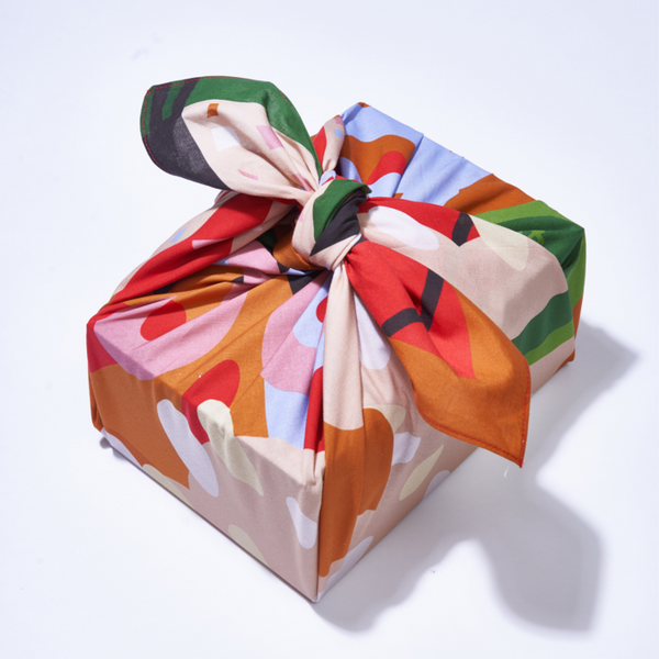 Fete Reusable Gift Wrap - 75 cm. square