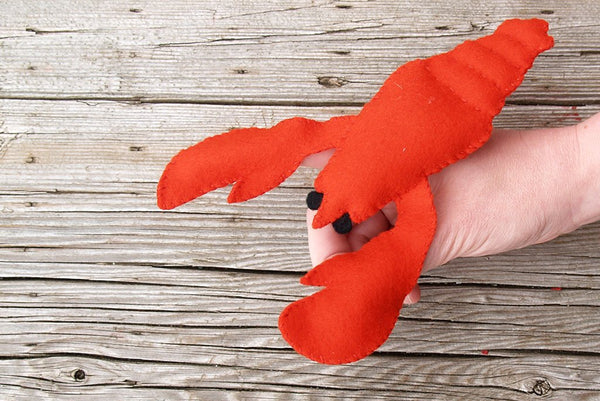 By the Sea | Felt Finger Puppet Hand Sewing Kit