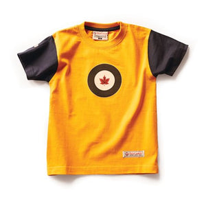 Kids RCAF T-Shirt, Burnt Yellow