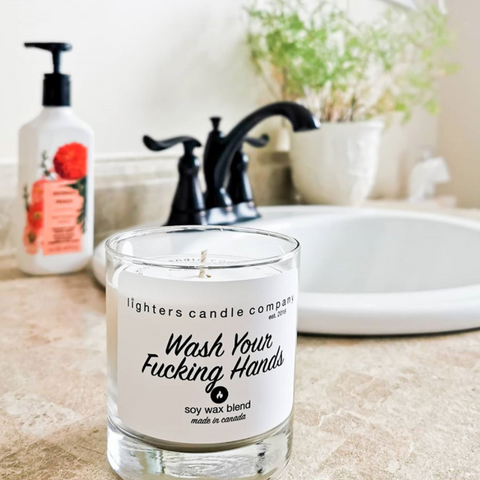 Wash Your F*cking Hands Candle