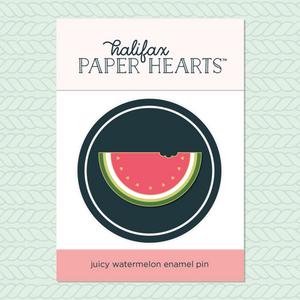Watermelon Enamel Pin