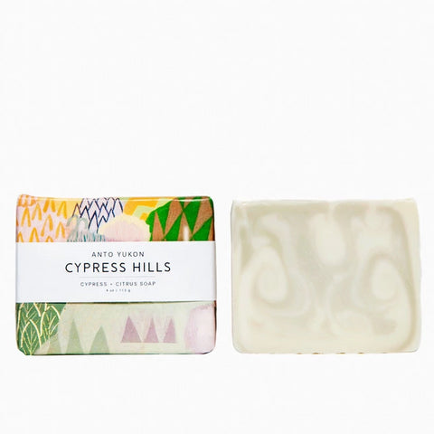 natural soap by anto yukon - cypress hills scent