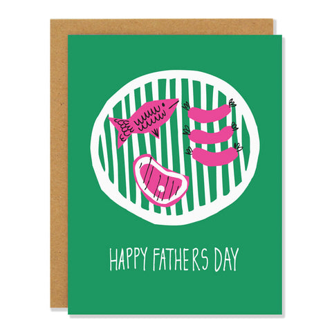 BBQ Father's Day Card