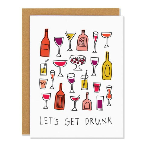 Let's Get Drunk Card