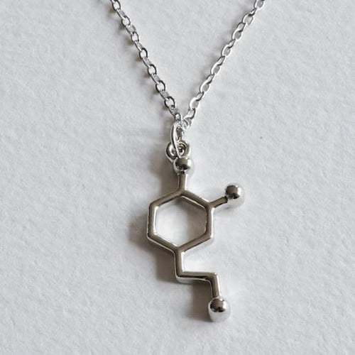 Dopamine Molecule Necklace - Aloraflora Jewelry