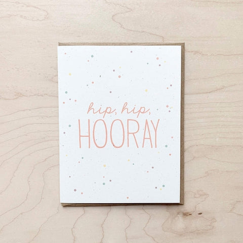 Hip Hip Hooray | Greeting Card