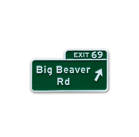 Big Beaver Road Pin