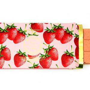 Strawberry Blonde • Puffed Rice and Strawberry 28% White Chocolate