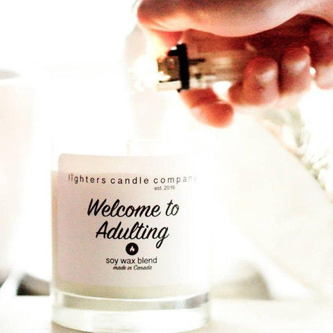 Welcome To Adulthood Candle
