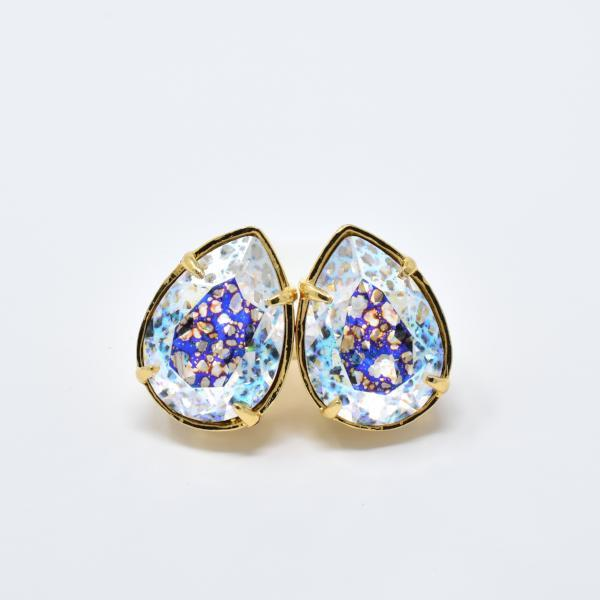 Teardrop Swarovski Stud Earrings | Summer 2020