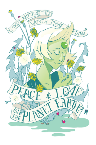 Love & Peace - Peridot | Print