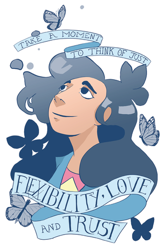 Flexibility, Love and Trust - Stevonnie | Print