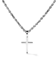 Load image into Gallery viewer, Mini Cross Pendant - Flooded Jewelers