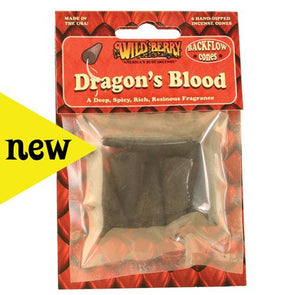 Dragon's Blood Backflow Cone Packaged