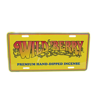 Wild Berry License Plate