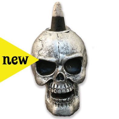Mini Skull Backflow Burner