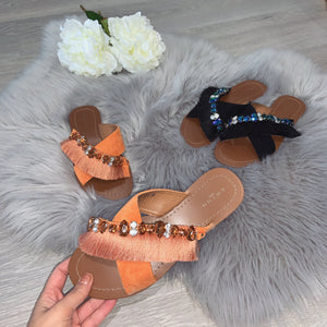 Tropez sandal - orange