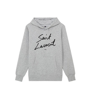 LUXE COLLECTION - Saint script hoodie - choose colour