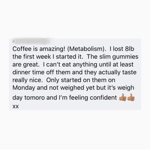 Metabolism weight management coffee