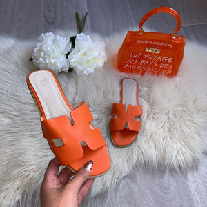 Hermie sandal - orange