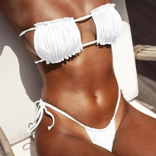 Load image into Gallery viewer, Allegra bikini - white