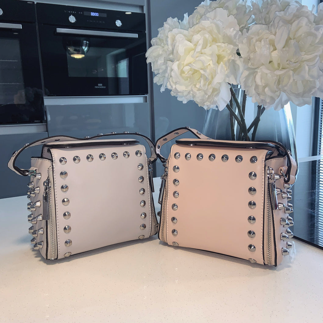 Xara studded bag - pink