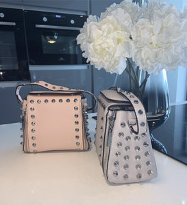 Xara studded bag - grey