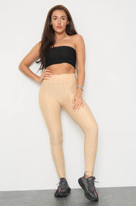 Tilly honeycomb / waffle leggings - choose colour