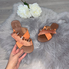 Load image into Gallery viewer, Tropez sandal - orange