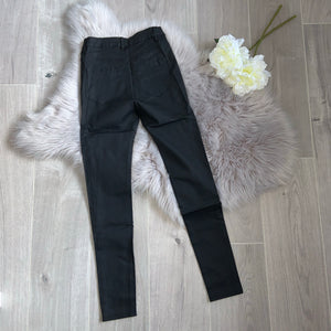 Nancy coated jeans