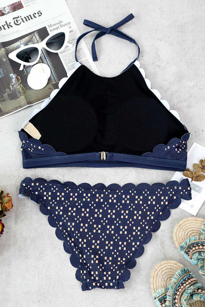 Veromoi Fashion Print Two-piece Swimwears