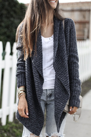 Veromoi Casual Long Sleeves Cardigan