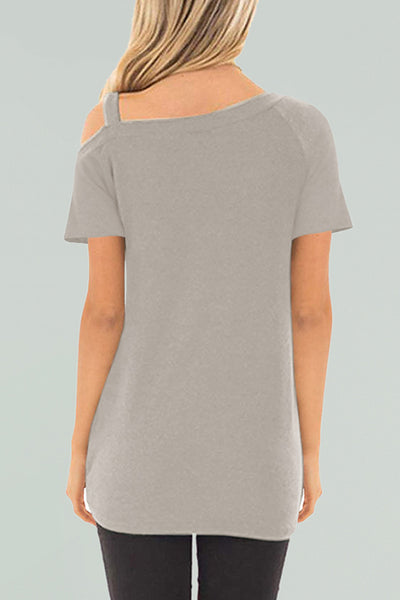 Veromoi Dew Shoulder Short Sleeves T-shirt