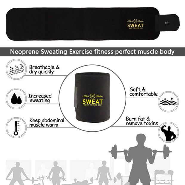 SweatBelt MAX™ Waist Trimmer Belt