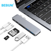 THUNDERDRIVE PRO USB TYPE-C HUB 7 IN 1 FOR MACBOOK